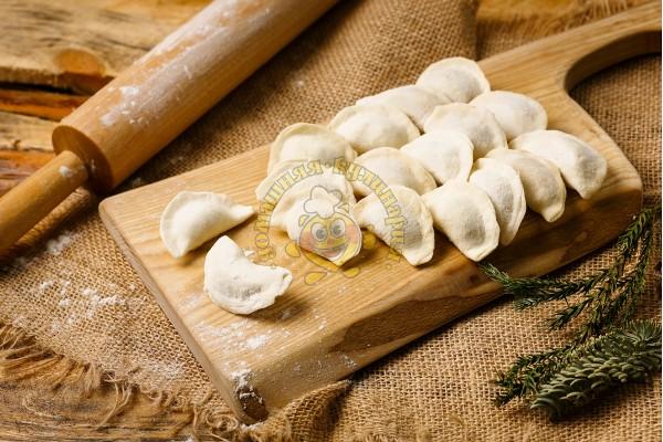 Пельмени из свежей капусты (замороженные)
