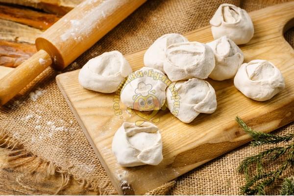 Манты из телятины, баранины и картофеля  (замороженные)