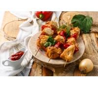 Шашлычки из куриного филе