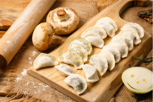Пельмени с грибной икрой (замороженные)