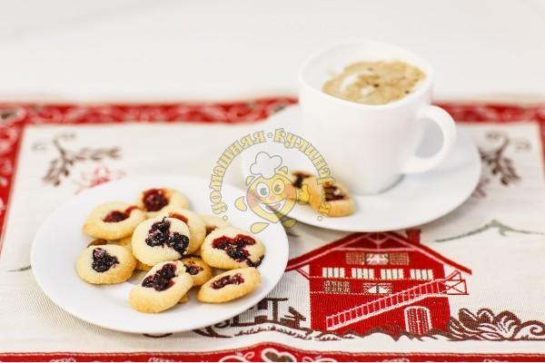 Печенье Ассорти со свежими ягодами