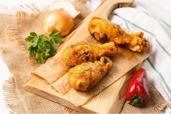 Голени куриные во фритюре