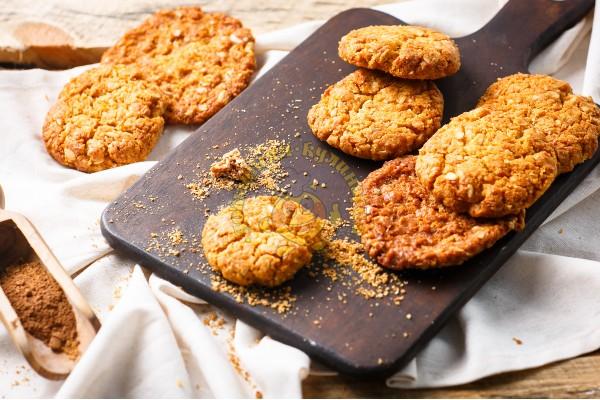 Печенье домашнее овсяное