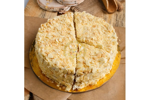 Торт 'Стёпка-растрёпка' с сырным кремом