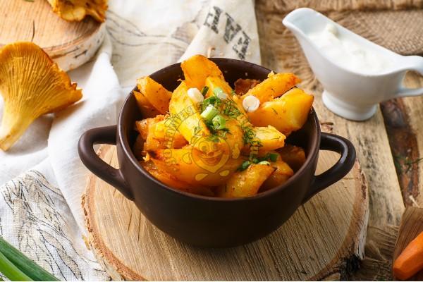 Картофель запеченный по домашнему
